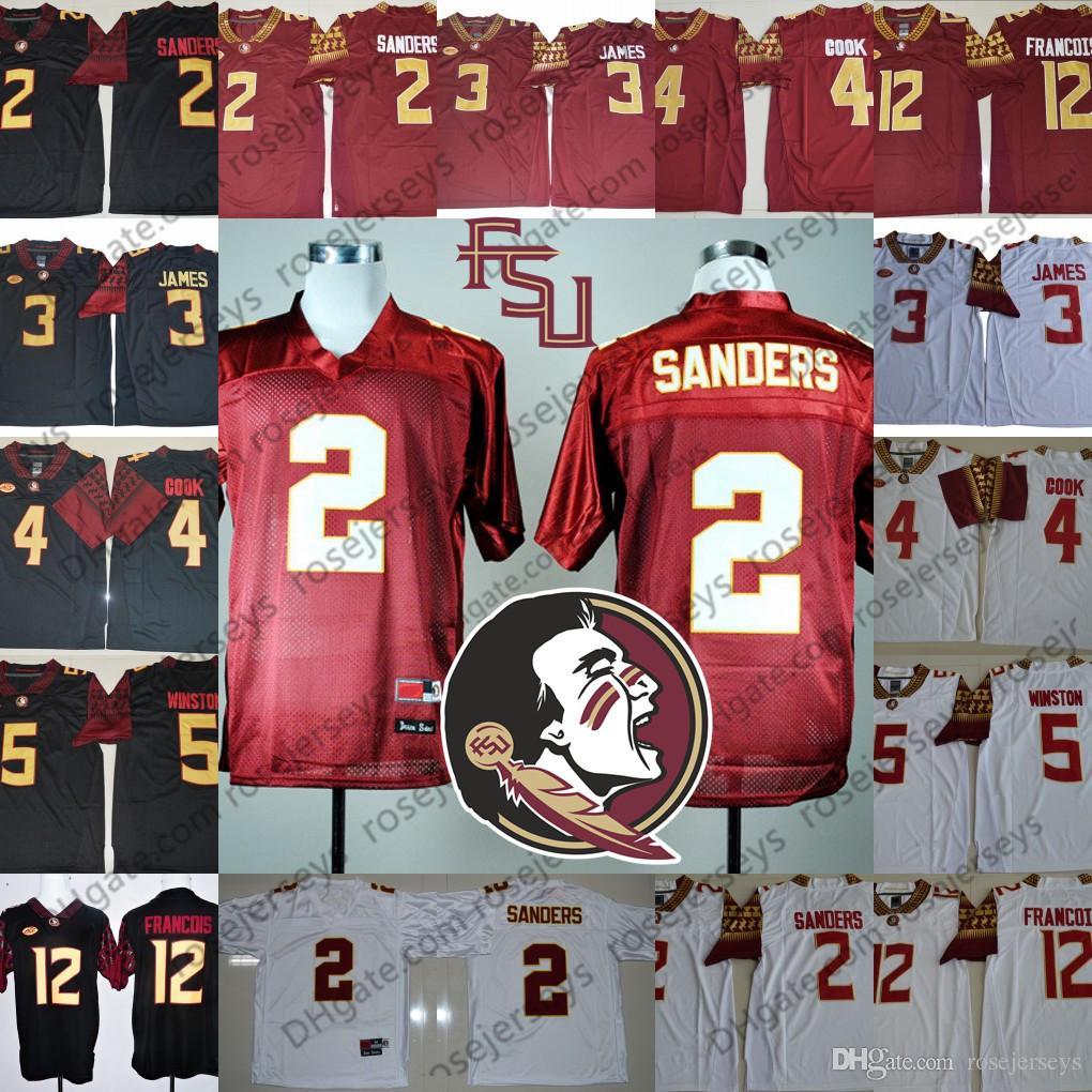 c970b899 ... inexpensive 2019 fsu florida state seminoles 2 deion sanders vintage  jersey 3 derwin james 12 francois