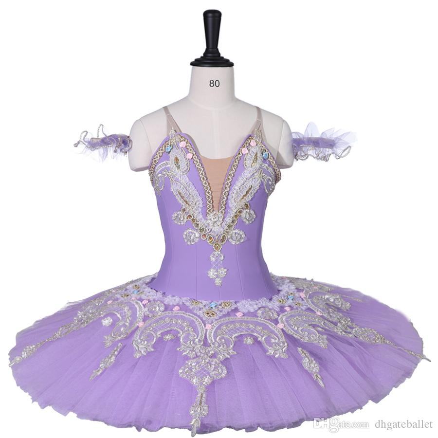 b2b601f85 2019 Adult Girls Professional Ballet Tutus Purple Classical Ballet ...