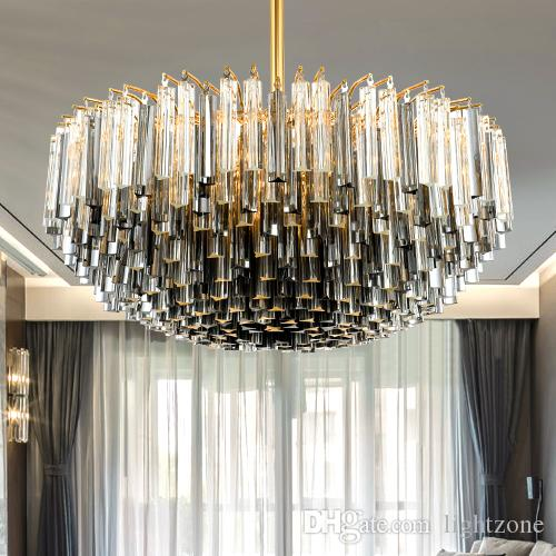 New design patented unique led crystal glass rod chandelier lights new design patented unique led crystal glass rod chandelier lights modern classical creative smoky gray special led crystal chandelier lamps led pendant audiocablefo