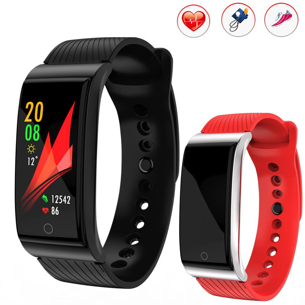 2018 new smart watch app gps tracking swimming blood pressure heart