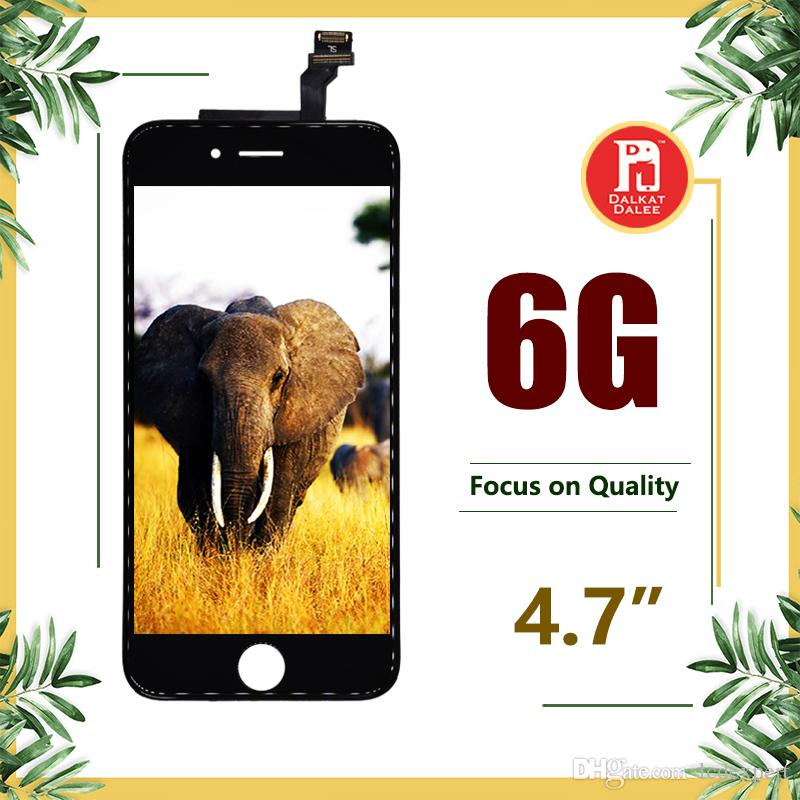 ЖК-дисплей высокой яркости пройти солнцезащитные очки тест сенсорный дигитайзер полный экран полная замена сборки для iPhone 6 для Tianma LCD