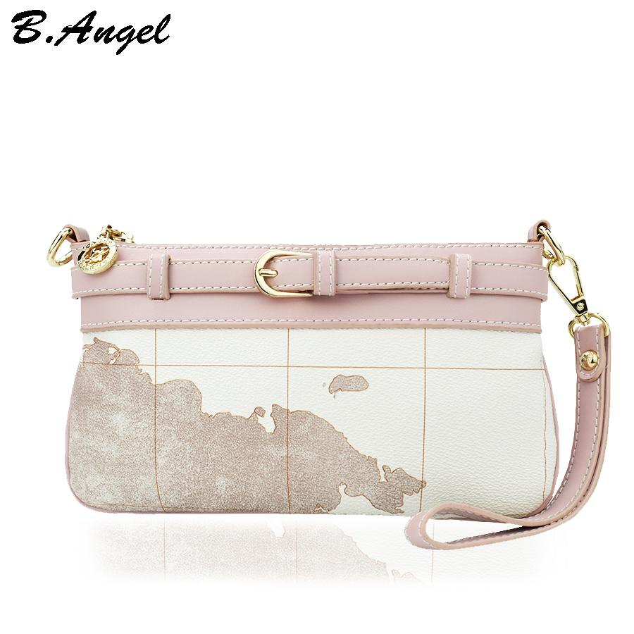 High quality simple clutch bag world map women messenger bags high quality simple clutch bag world map women messenger bags leather handbags women famous brand vintage crossbody bags purse women messenger bags clutch gumiabroncs Choice Image