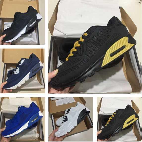 best sneakers 5b779 cc4d8 Großhandel Nike Air Max 90 Großhandel Laufschuhe Top Neue Outdoor Schuhe  Rabatt Sport Turnschuhe Frauen Männer Günstige Kausal Sneaker N 24 Von  Englondon2, ...
