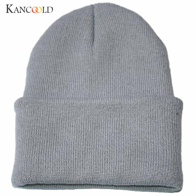 17 Colors Unisex Turban Beanie Warm women Hats Knitted Snow Ski Knit Hat Knitting Beanies men male Hip Hop Cap for femme OC25A Y18102210