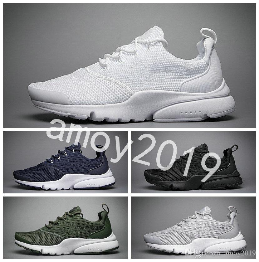 2018 Presto Fly Ultra Olympic BR QS Men Women Running Shoes Navy Black  Fashion Casual Prestos Mens Trainers Sports Sneakers Size 36 45 Spikes  Shoes Best ... d814e1a4f8f3