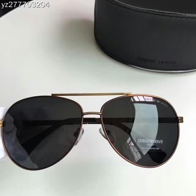 18b15049dff 2018 New Men s Polarized Sunglasses Electroplated Metal Frame for ...