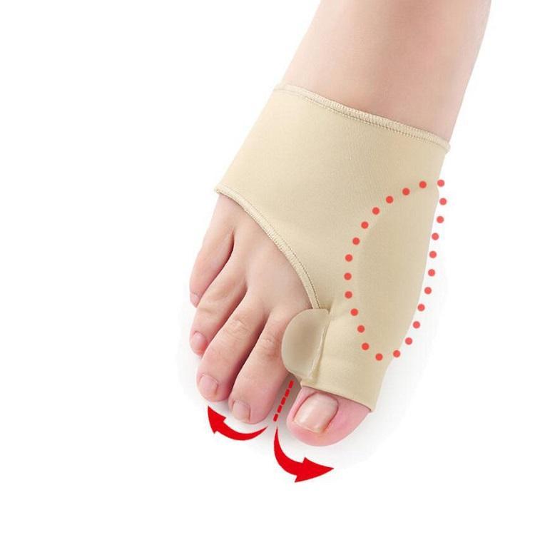 Socken Big Toe Hallux Valgus Corrector Orthesen Fußpflege Knochen Daumen Teller Korrektur Pediküre Bunion Glätteisen