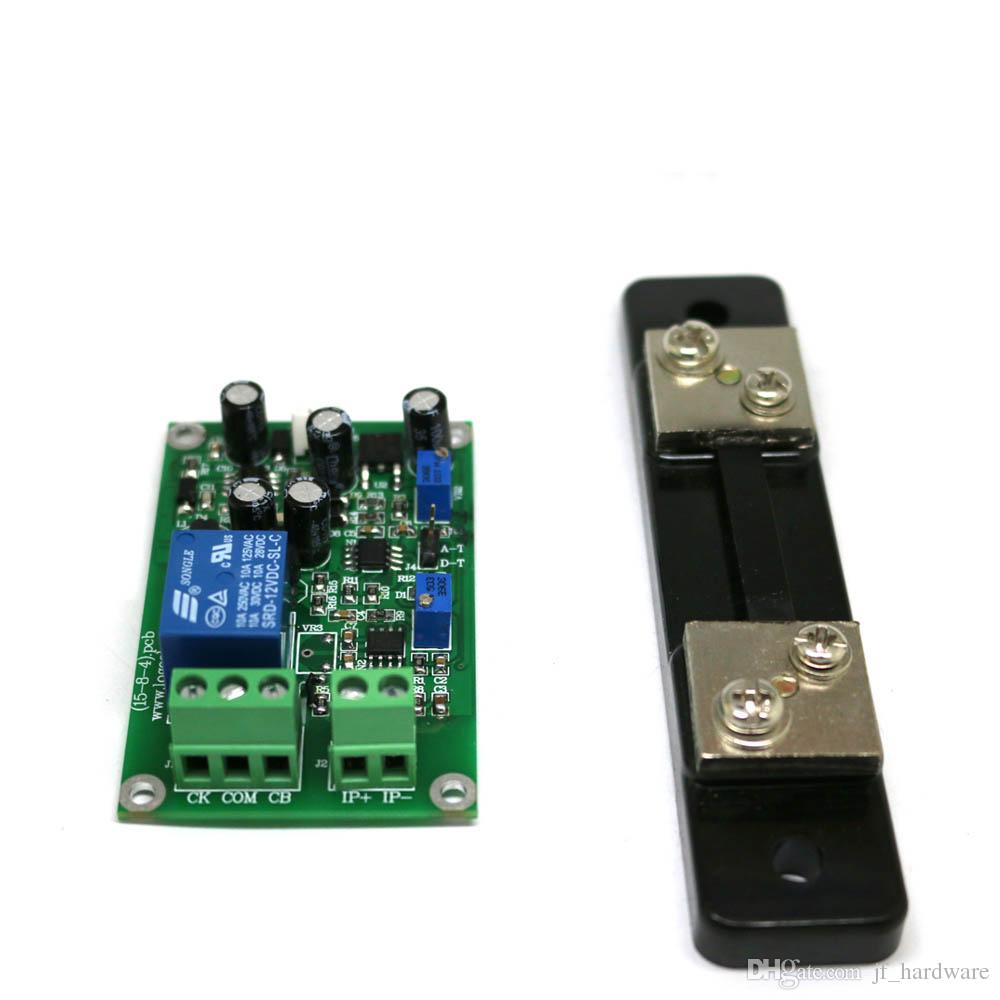 2018 Current Detection Sensor Module Dc24v Shunt Overcurrent Short Circuit Protection Linear Output 20 30 50 100 200 300a Optional From