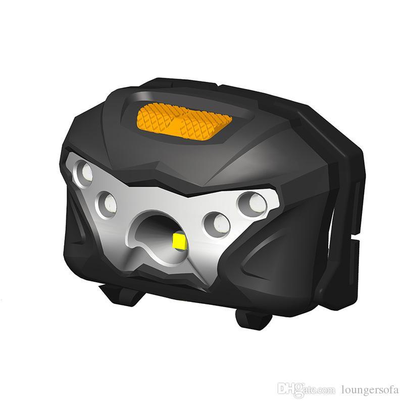 À la mode en plein air Night Running projecteur USB charge phare à induction LED forte lumière phares de pêche vente chaude 30lh X