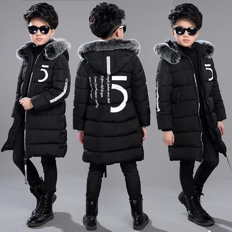 d93678a10387 12 Children S Clothing 13 Boys 14 Winter Clothing 15 Jacket 2018 New Thick  Cotton Thickening 10 Years Old Children 30 Degrees Winter Coats For Kids  Kids ...