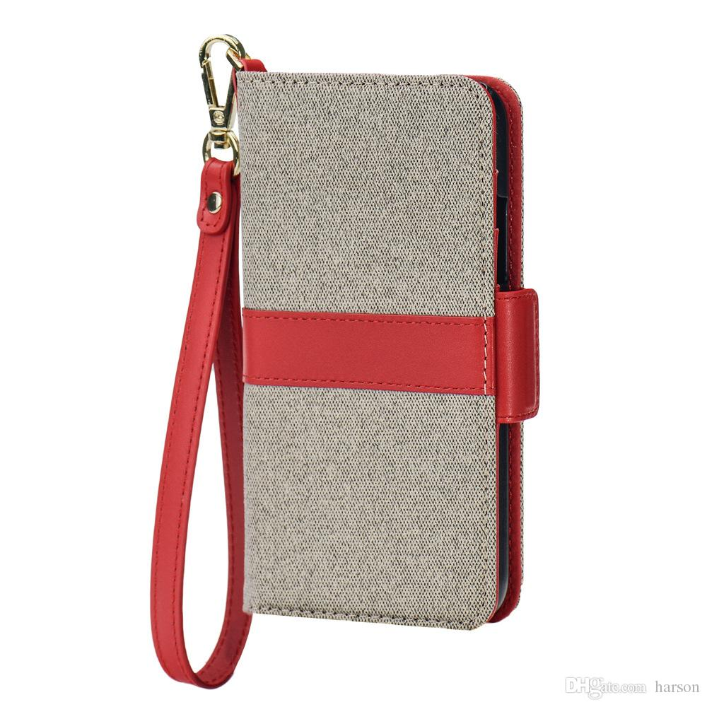 New Leather Phone cases PU with Leather fashion cases for Phone X DHL free Shipping RED