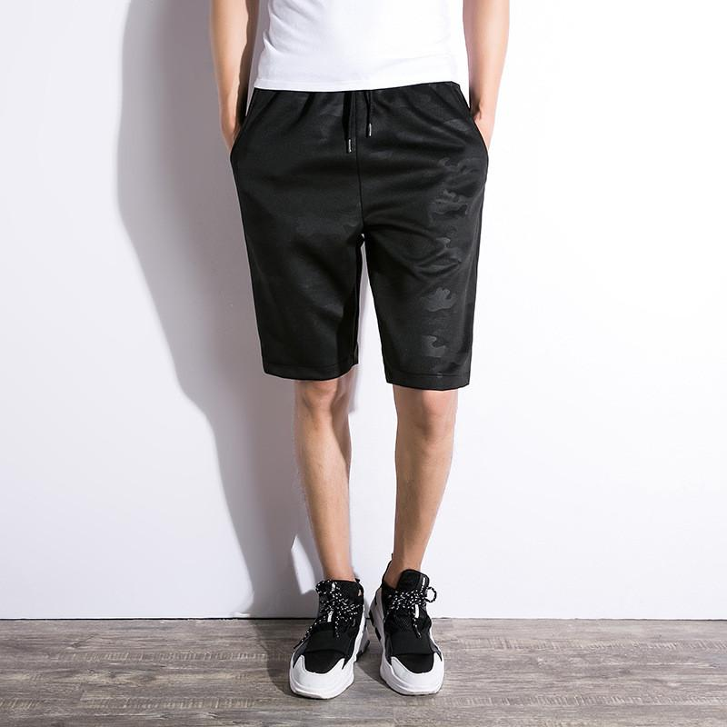 30c6ff1ee 2019 Mens Summer Shorts Fashion Gym Shorts Sportwear Camouflage Short Pants  For Men Drawstring Sweat Shorts Pocket Mens Streetwear High Quality From ...