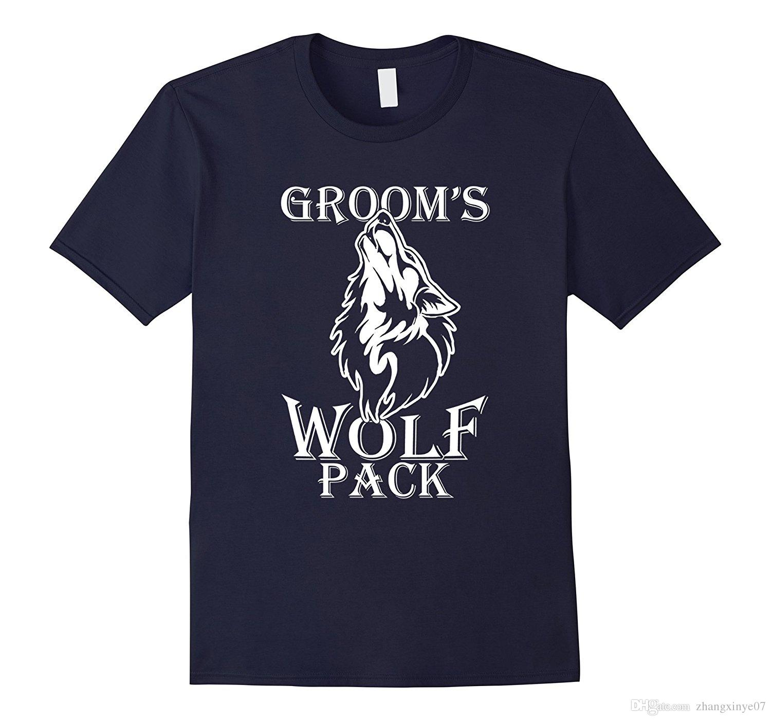 b8f971438d845 Mens Grooms Wolfpack Wolves Bachelor Party Game Over Gift TShirt