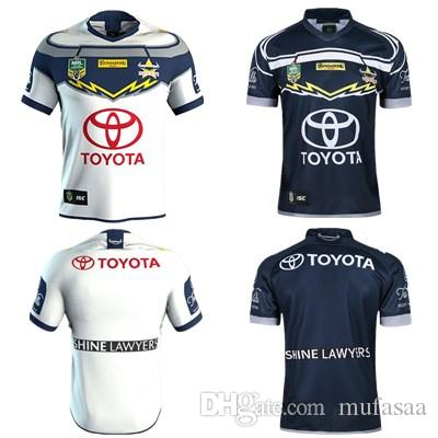 2018 North Queensland Cowboys Rugby Jerseys 2018 Home Away Jersey Nrl  National Rugby League Nrl Jersey Australia Shirt S 3xl From Mufasaa 602ddb3e5