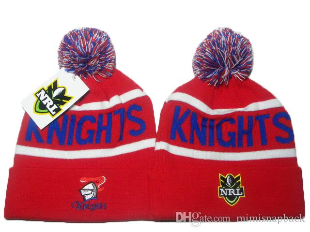 NRL Wests Tigers Winter Beanie Hats For Men Knitted Roosters Beanies Warm Cronulla Sharks Caps Drop Shipping