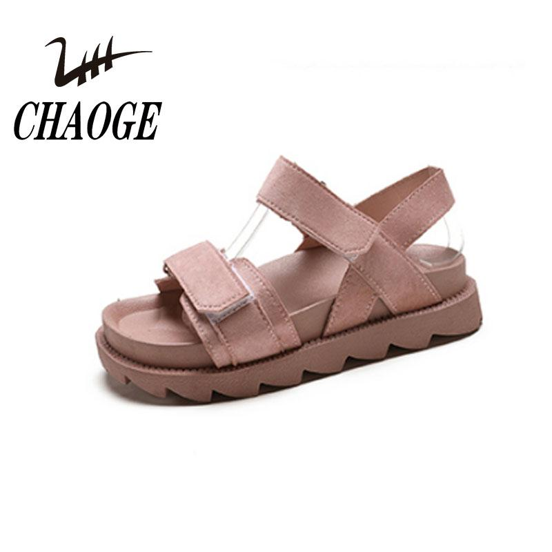 Thick New Sandals Flat Casual Platform Women Shipping12 Harajuku Summer Soled 2018 S Style Free dBeQrCxWoE