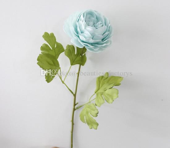 Yapay Yüksek Kalite Şakayık Çiçek Gerçek dokunmatik Rafine Ekran Sahte Çiçekler Düğün Odası Ev Dekor Çok renkler