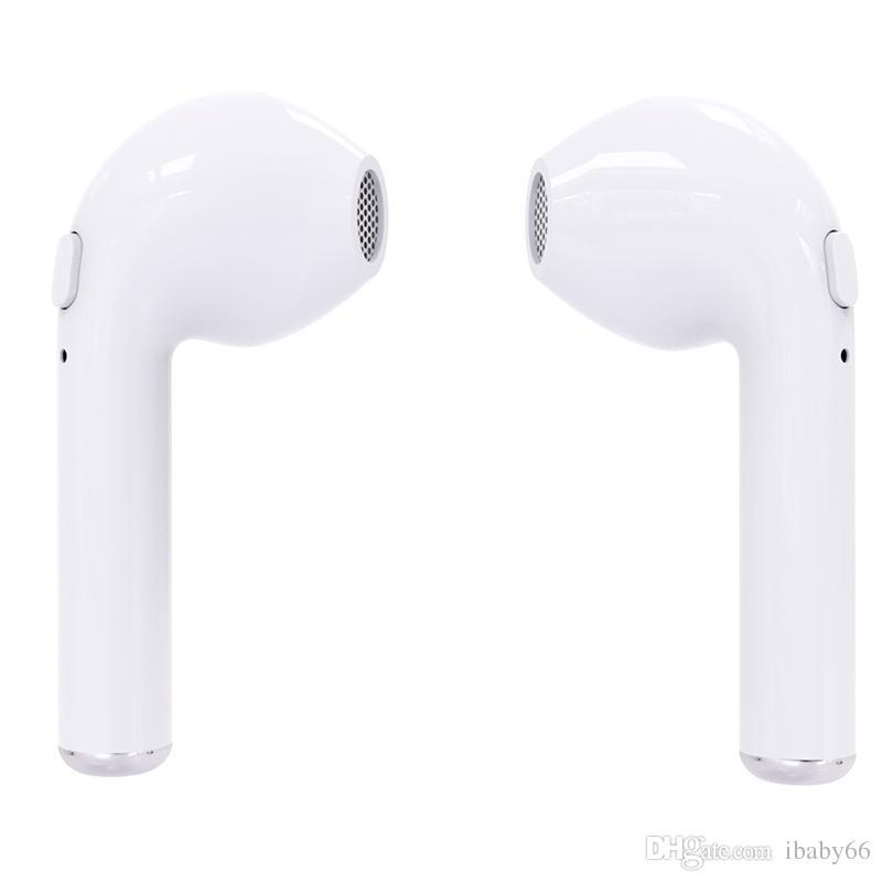 HBQ i7 tws gêmeos fones de ouvido sem fio bluetooth v4.2 fone de ouvido estéreo fone de ouvido para iphone 7 plus 7 8x galaxy s8 s9 além de lg