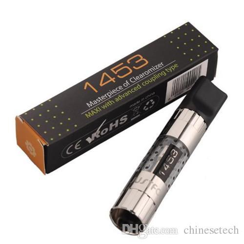 1453 atomizador punta de goteo de forma plana 1453 clearomizador shap punta de goteo también atomizador MAXI H2 atomizador mt3
