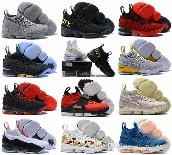 huge discount 1fe2b bcd6f Großhandel 2018 Basketball Schuhe 15 Ashes Fruchtig Pebbles Ghost GLEICHHEIT  Stadt Edition Black Gum Stolz Ohio BHM Trainer Sport 15 S Turnschuhe Größe  7 12 ...