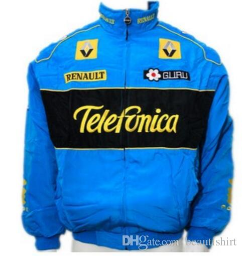 F1 motorbike motorcycle suit car F1 FIA NASCAR IndyCar V8 Supercar MOTO GP Racing Cotton Jacket Motorcycle Rider Jacket