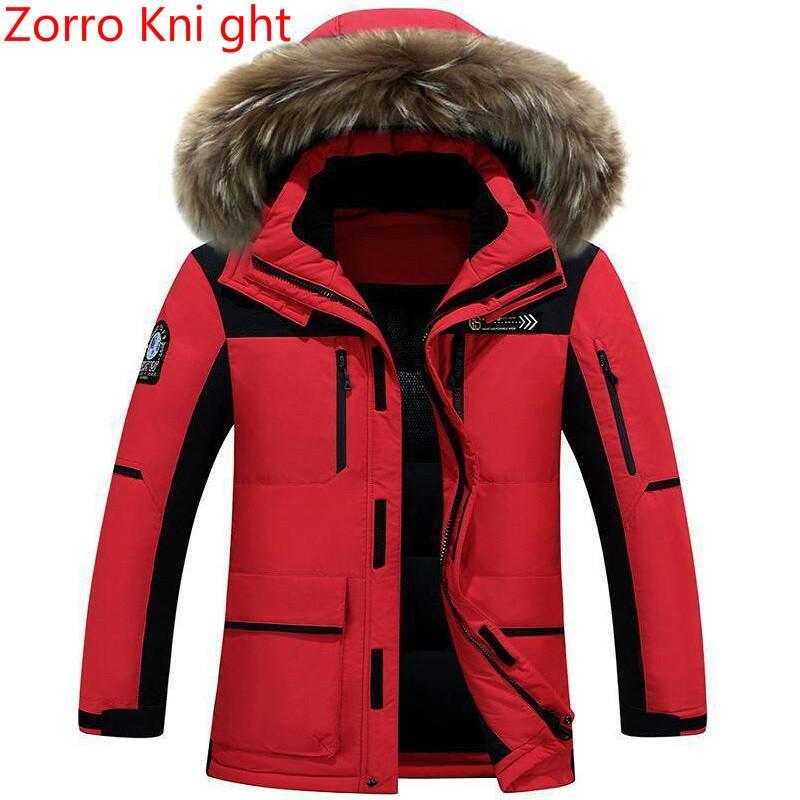 37a86cd2e2aef 2019 Coat Men Winter Casual Canada Mens Fur Collar Coat Army Green Outwear  Coats Man Jacket Ropa Hombre Winter Jacket Men Parka Coats From Marryone
