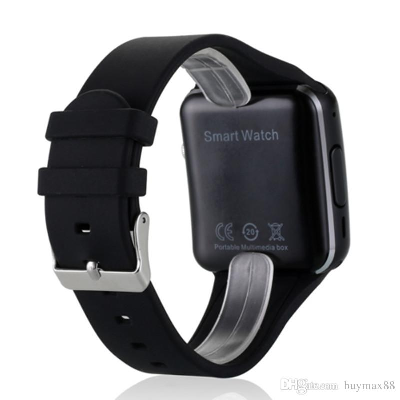 2018 Curved Screen X6 Smartwatch Smart Watch Bracelet Phone With SIM TF Card Slot With Camera For LG Samsung Sony All Android Mobile Phone