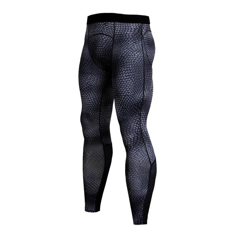 367ae8f9d7 Men's Sports Wear Tights Running Compression Pants Men Bodybuilding ...