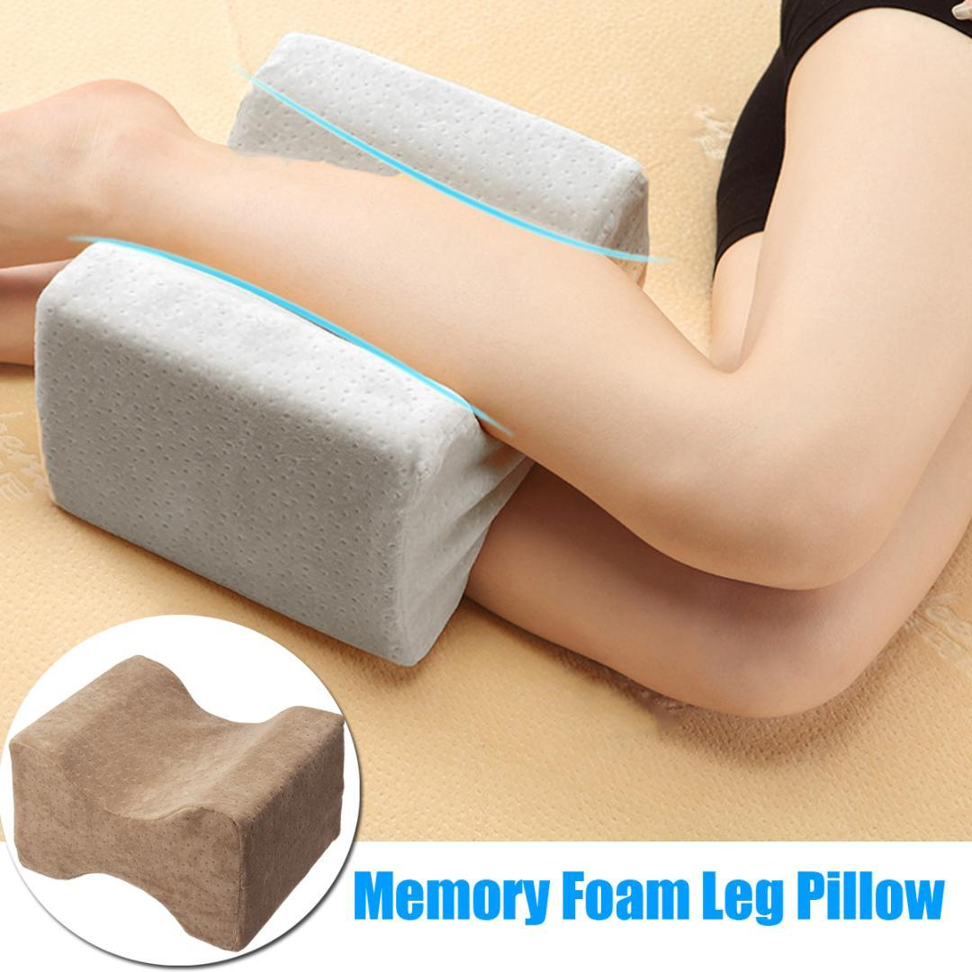 Symbol Of The Brand Memory Foam Knee Leg Pillow Bed Cushion Leg Pad Pregnancy Leg Shaping Body Pain Relief Sleeping Pillow Cheap Sales Pillows Home & Garden