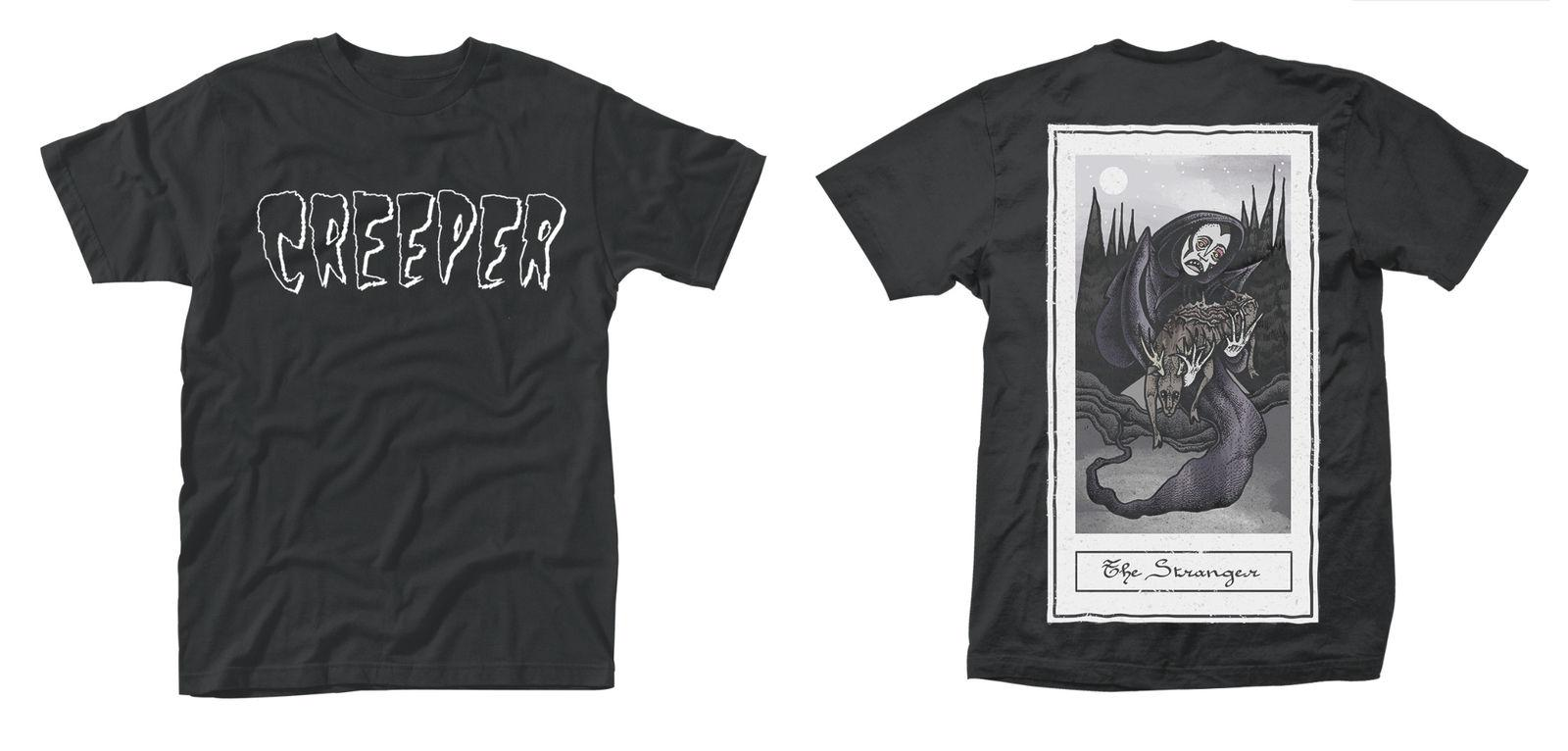 Creeper /'Death Card/' T-Shirt NEW /& OFFICIAL!