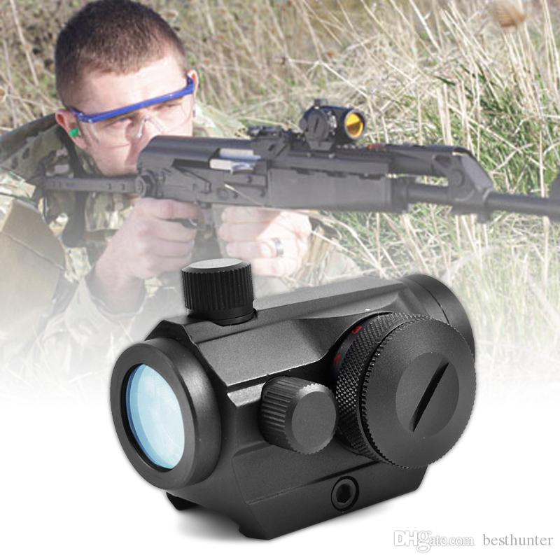 Red Dot Scopes Sight 20mm Mount Pistol Scope Optics Riflex Hunting  Riflescopes Red Dot Airsoft Air Guns Scopes Holographic Sight