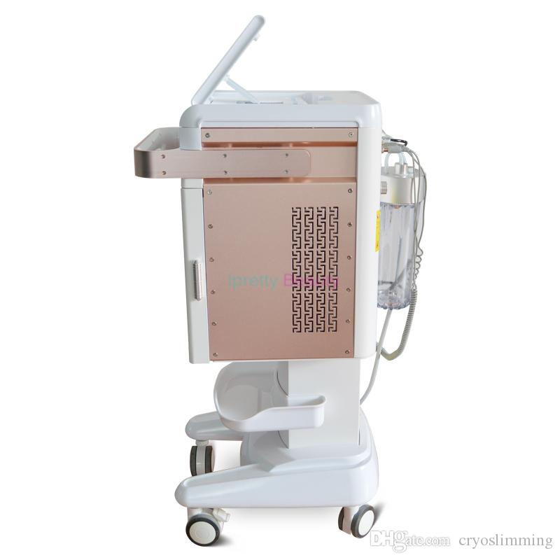 Nouveau Hydra visage Microdermabration machine Bio Courant oxygène pulvérisation RF Radiofréquence Lifting de refroidissement Massage Hammer Hydro Facial Peel