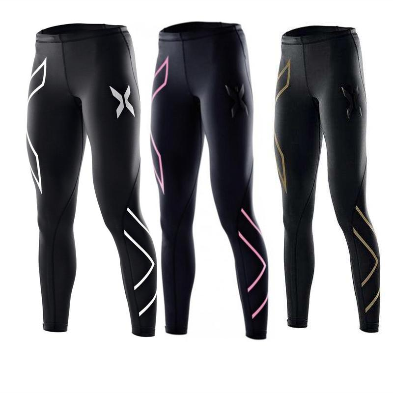 Women Skinny Yoga Pants Running Tights Mid Waist Fitness Workout ... c3d2ffa80f