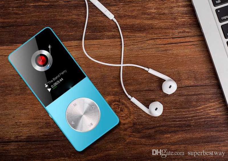 Metal MP3 MP4 Çalar 4 GB / 8 GB / 16 GB Ince Spor MP4 Oyunu Lcd Flaş Hifi Mini Müzik Video Oynatıcı FM Radyo TF Kaydedici OTH260