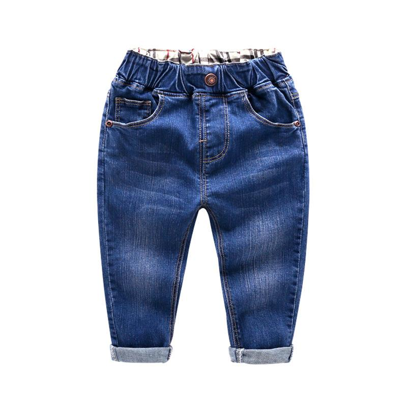 ed1c5bc6046d BibiCola Spring Boys Pants Jeans For Kids Cowboys Pants Casual Children  Jeans Solid Denim Child Sport Trousers Boys Clothing Y18103008 Girl Jean  Shorts ...