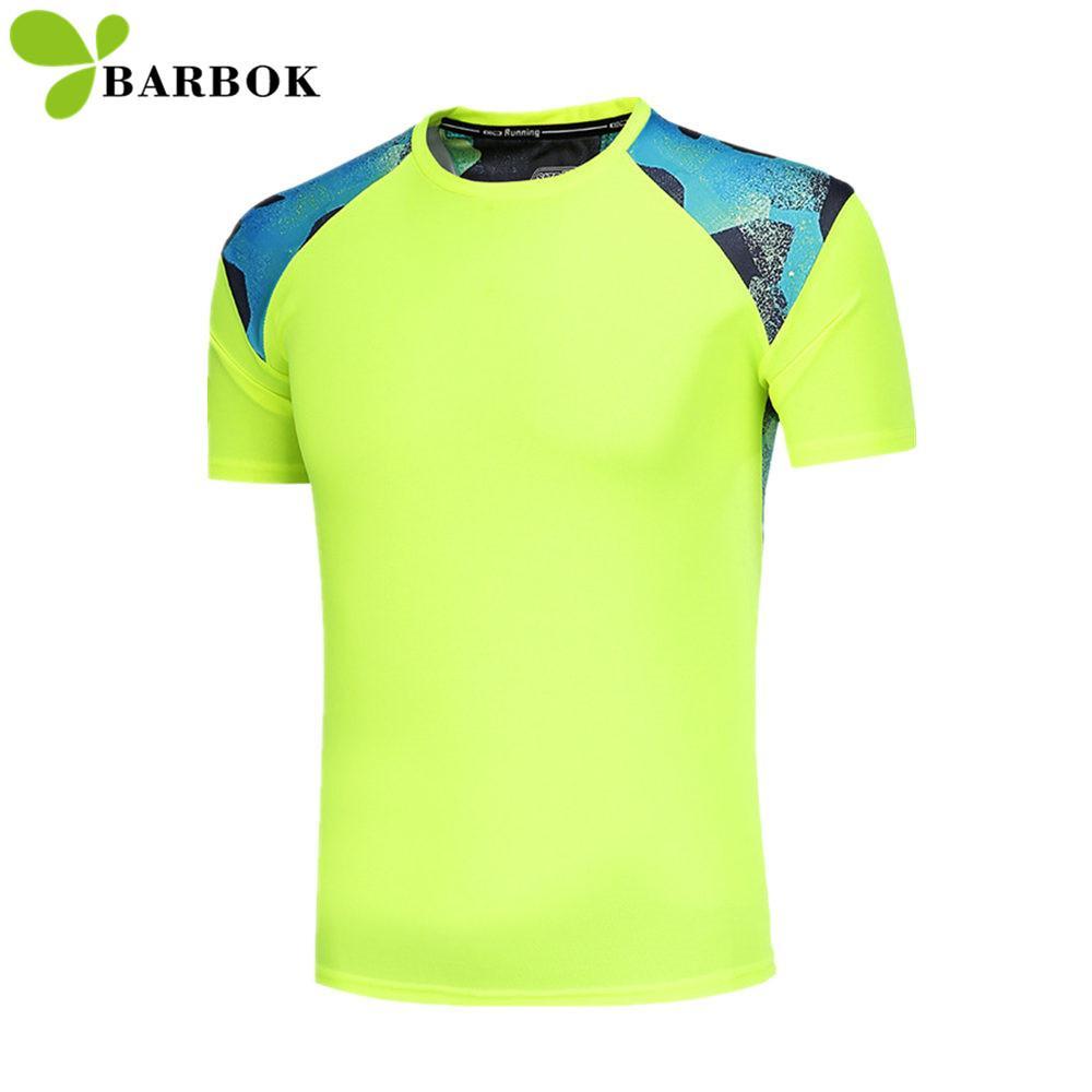 Compre BARBOK Hombres Corriendo Camisetas Ropa De Yoga Ropa Deportiva Tenis  Baloncesto Jersey Manga Corta Hombre Slim Runner Gimnasio Ropa De Gimnasio  A ... e5aed5997e85