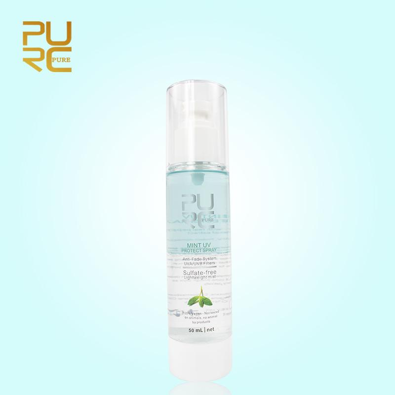 PURC Mint UV Protect Spray Against UV Protect Damage Frizzy and Replenishes Moisture Hair Care & Styling