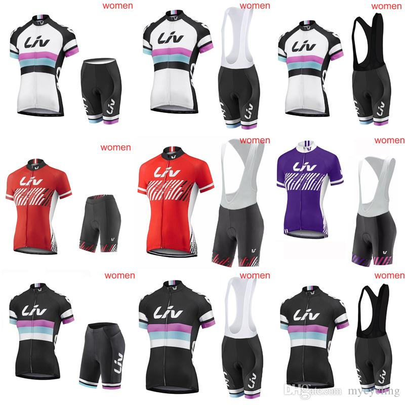 2018 Women Liv Cycling Jersey Set Racing Bicycle Clothing Maillot Ciclismo  Tour De France Summer Quick Dry MTB Bike Clothes Sportswear C3010 Motorbike  ... ad9048382