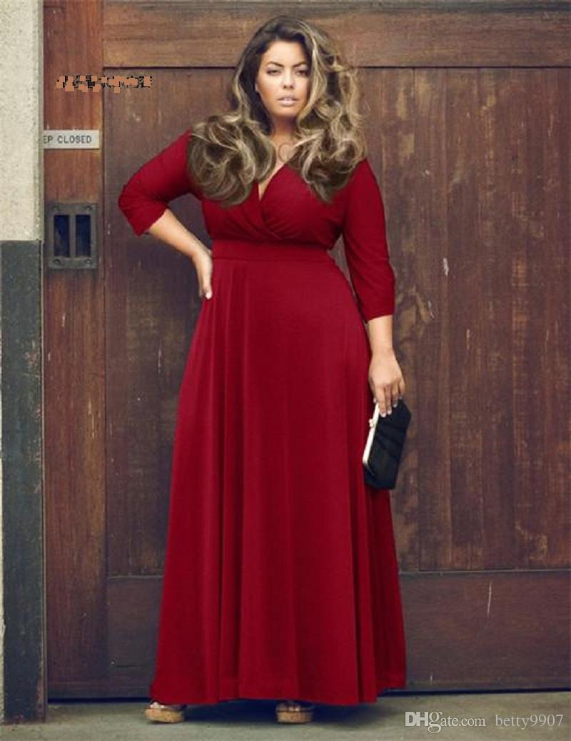 c291eb61e9e0a 2018 Designer Woman Dresses Women Clothes Formal Prom Dress Oversize XXXL  cocktail ball evening party Wear