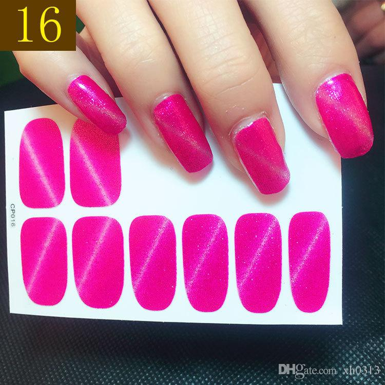Optional Water Transfer Nail Art Stickers Decals For Nail Tips ...