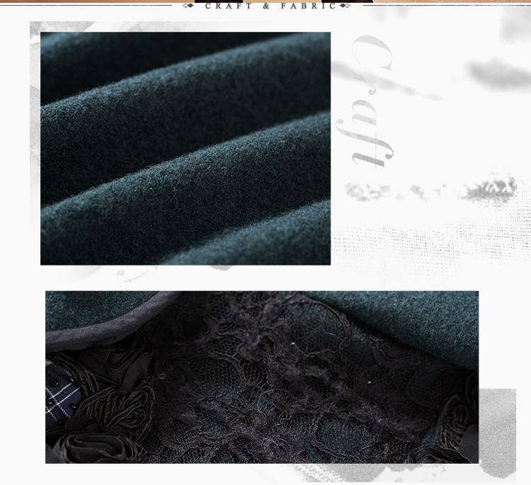 Cape Coat Women Autumn Jackets 2018 Wool Women's Winter Coat Elegant Cloak A-Line Poncho Female Warm Coat Outwear WA10074D