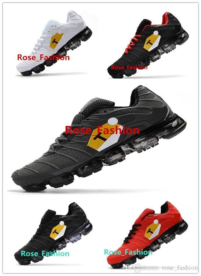size 40 8be77 e26c6 Compre TN ULTRA 2018 Big Logo Pack Hombre Senderismo Zapatillas Deportivas  Para Hombre Zapatillas Para Correr Al Aire Libre Zapatillas De Deporte Para  ...