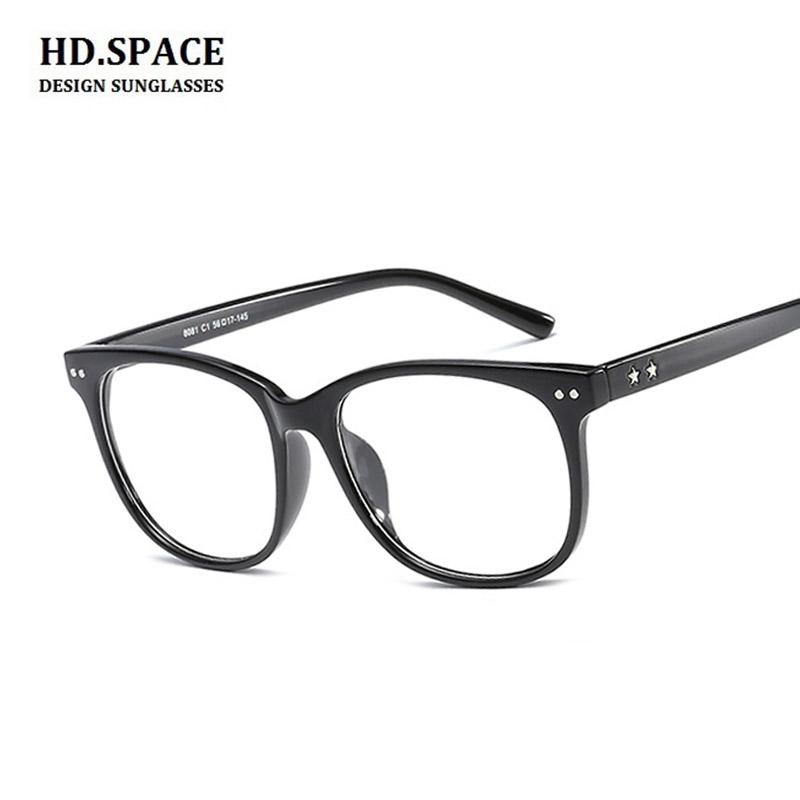 318fa2fcc6f Nearsighted Glasses Prescription Glasses for Men Women Black And ...