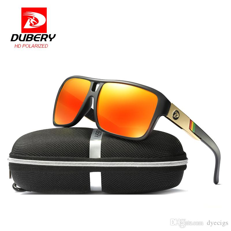 d5572eeabca DUBERY Men S Polarized Sunglasses Aviation Driving Sun Glasses Men Women  Sport Fishing Luxury Brand Designer Oculos UV400 Victoria Beckham Sunglasses  ...