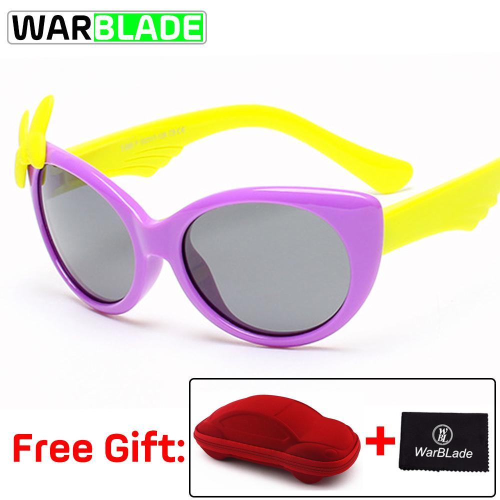 Compre TR90 Flexível Crianças Óculos De Sol Ciclismo Polarizada Baby Boy  Meninas Óculos De Sol Criança Sunglass Infantil Oculos Shades UV400 Com  Caso De ... bed442a0ef