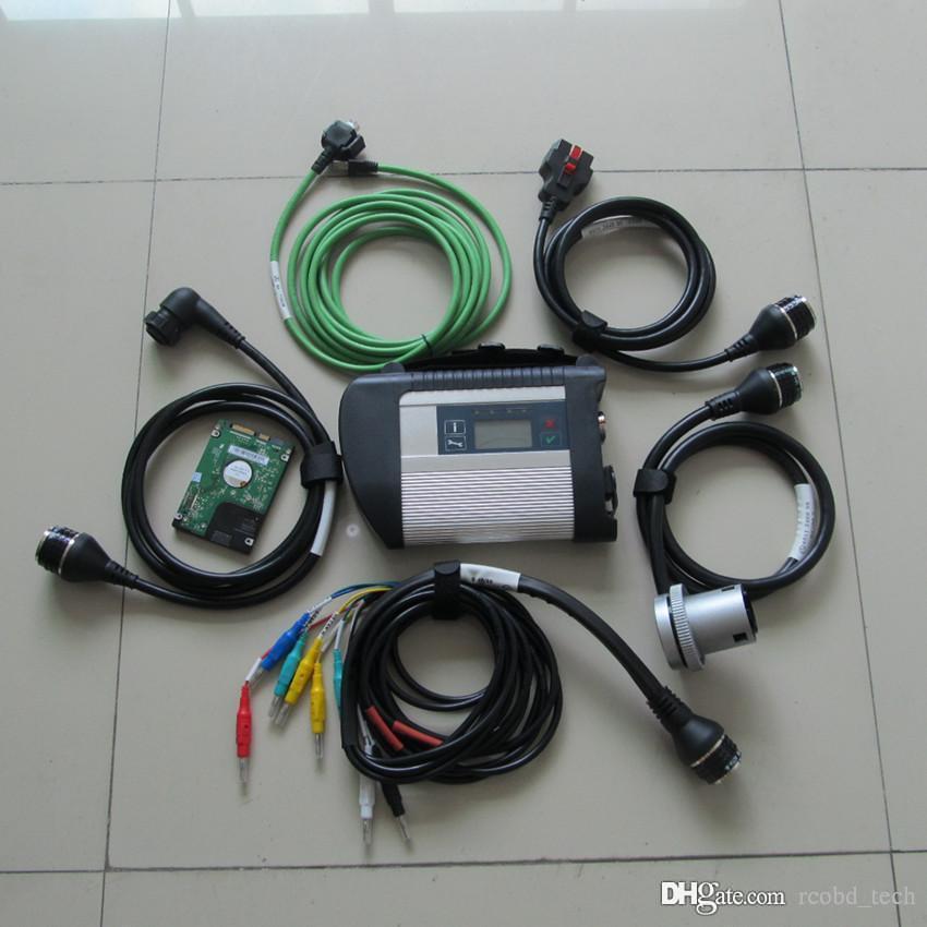 MB Yıldız C4 SD Teşhis Aracı Wifi Xenrty DAS EPC Laptop Ile HDD X200T Dokunmatik Ekran Toughbok Tam Kiti