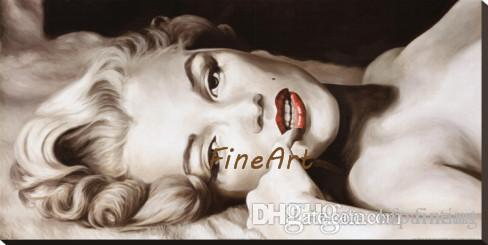 100% handmade good quality wholesale marilyn monroe portrait canvas painting discount best oil painting art deco paintings sale modern sofa