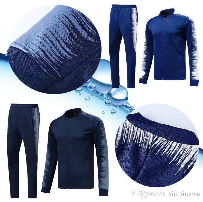 a5afa0e2 TOP 18 19 Chelsea Survetement jacket tracksuit HAZARD,DIEGO COSTA,OSCAR  Training suit sportswear chelsea tracksuit jacket SHIRTS