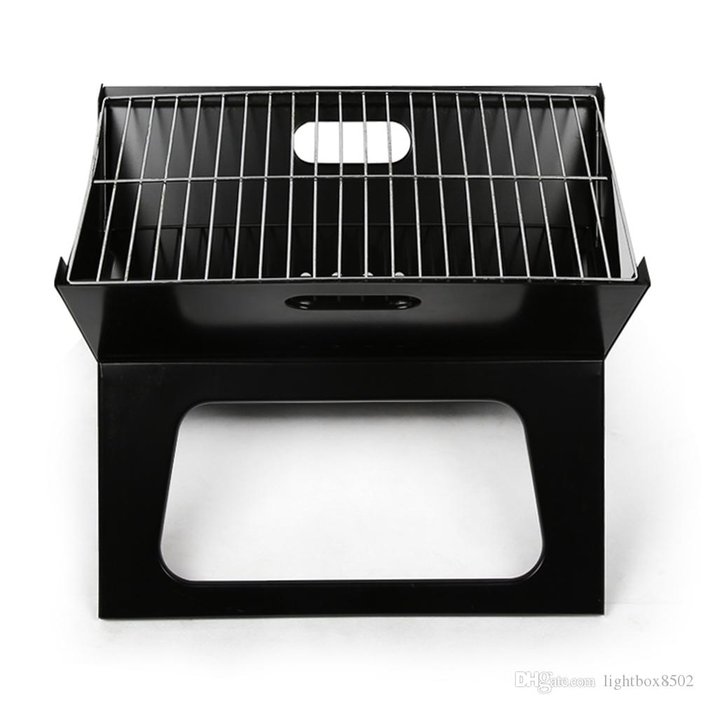 LightbyBox Charcoal Grill, Portable Mini Hibachi Grills For Kitchen  Backyard Outdoor Cooking BBQ Barbecue Tool Sets Black Outdoor Charcoal Grill  Portable ...