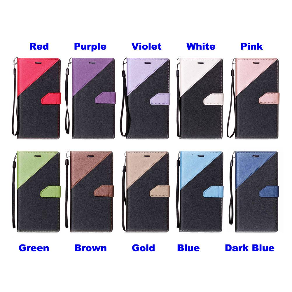 Sandbeach Cell Phone Case Cover Stand with Wallet Card Money Holder Hand Strap 74 Models for Option